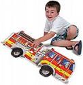 Deals List: Melissa & Doug Giant Fire Truck Floor Puzzle, 24 piece (4 ft long)
