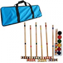 Deals List: Trademark Games Croquet Set with Carrying Case