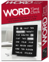 """Deals List:  LED Word Clock - Displays Time as Text - Powered by AC Adapter (8"""" x 8"""")"""
