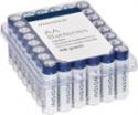 Deals List: Insignia - AA Batteries (48-Pack) - White / Blue, NS-CB48AA