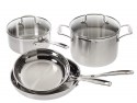Deals List:  Cuisinart Multiclad Pro Stainless Steel 6-Piece Cookware Set