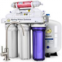 Deals List: iSpring RCC7AK 6-Stage Superb Taste High Capacity Under Sink Reverse Osmosis Drinking Water Filter System with Alkaline Remineralization-Natural pH WQA Gold Seal Certified (NSF/ANSI 58)