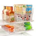 Deals List: Greenco GRC0250 6 Piece Refrigerator and Freezer Stackable Storage Organizer Bins with Handles, Clear