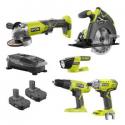 Deals List: Ryobi P1983N 18-Volt ONE+ 5 Tool-Combo Kit