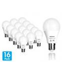 Deals List: Tenergy LED Light Bulb, 9 watts Equivalent A19 E26 Medium Standard Base, 5000K Daylight White Energy Saving Light Bulbs for Office/Home (Pack of 16)