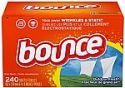 Deals List: Bounce Fabric Softener and Dryer Sheets, Outdoor Fresh, 240 Count