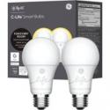 Deals List: 2-Pack C by GE C-Life A19 Bluetooth Smart LED Bulb