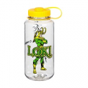 Deals List: 2 Nalgene 32oz Wide Mouth Clear Bottle With Loki And Yellow Cap