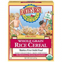 Deals List: Earth's Best Organic Infant Cereal, Whole Grain Rice, 8 oz. Box (Pack of 12)