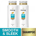 Deals List: Pantene Argan Oil Shampoo for Frizz Control, Smooth and Sleek, 25.4 Fl Oz (Pack of 2)