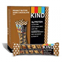 Deals List: KIND Bars, Peanut Butter Dark Chocolate, 8g Protein, Gluten Free, 1.4 Ounce Bars, 12 Count