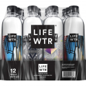 Deals List: LIFEWTR, Premium Purified Water, pH Balanced with Electrolytes For Taste, 500 mLbottles (Pack of 12)