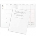 Deals List: BooQool 2019-2020 (18-Month) Monthly Planner 8 x 11-inch