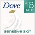 Deals List: Dove Beauty Bar, Sensitive Skin, 4 oz, 16 Bar