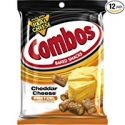Deals List: COMBOS Cheddar Cheese Pretzel Baked Snacks 6.3-Ounce Bag (Pack of 12)