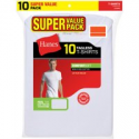 Deals List: 10-Pack Hanes Mens ComfortSoft White Crew Neck T-Shirt