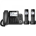 Deals List: Panasonic KX-TGF382M Link2Cell Bluetooth Corded / Cordless Cordless Phone and Answering Machine with 2 Cordless Handsets