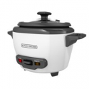 Deals List: BLACK+DECKER 3-Cup Electric Rice Cooker with Keep-Warm Function, White, RC503