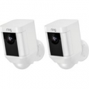Deals List: 2-Pack Ring Spotlight Cam Wired Rectangle Security Camera