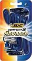 Deals List: BIC Comfort 3 Advance Men's Disposable Razor, 4-Count