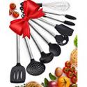 Deals List: Braviloni Kitchen 8 Piece Non-Stick Cooking Utensil Set