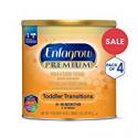 Deals List: Enfagrow PREMIUM Non-GMO Toddler Transitions Formula - Powder can, 20 oz each (Pack of 4)