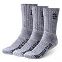 Deals List: 3-Pairs Buttons & Pleats Premium Merino Wool Hiking Socks