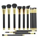 Deals List: BESTOPE 15 Pcs Makeup Brushes Makeup Brush Set Kit