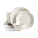 Deals List: Lenox French Perle Groove White 12-Piece Dinnerware Set