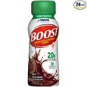Deals List: Boost High Protein Complete Nutritional Drink, Rich Chocolate, 8 fl oz Bottle, 24 Pack
