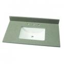 Deals List: Home Decorators Collection 37 in. W Quartz Single Vanity Basin