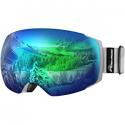Deals List: OutdoorMaster OTG Ski Goggles - Over Glasses Ski/Snowboard Goggles for Men, Women & Youth - 100% UV Protection