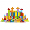 Deals List: Hape Limited Edition Solid Beech Wood Stacking Blocks with Carrying Sack