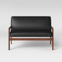 Deals List: Peoria Wood Arm Loveseat Project 62