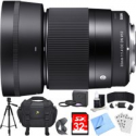 Deals List: Sigma 30mm F1.4 Dc Dn Lens For Sony E Mount Essential Accessory
