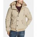 Deals List: Weatherproof Vintage Mens Faux-Fur Canvas Hooded Jacket