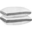 Deals List: Utopia Bedding UB760 Gusseted Quilted Pillow Set of 2