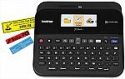 Deals List: Brother P-touch Label Maker, PC-Connectable Labeler, PTD600, Color Display, High-Resolution PC Printing, Black