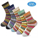 Deals List: 5packs OKISS Women Winter Socks Novelty Gift Socks