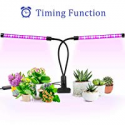 Deals List: Ankace 18W Dual Head Timing 36 LED 5 Dimmable Levels