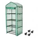 Deals List: Finether 4-Tier Greenhouse 27-Inch Portable Garden House