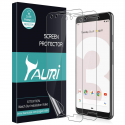 """Deals List:  3-Pack of the TAURI Google Pixel 3 5.5"""" Case Friendly Screen Protector"""