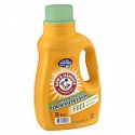 Deals List: Arm & Hammer Laundry Detergent 2x Concentrate, Free of Perfumes & Dye, 32 Loads Unscented