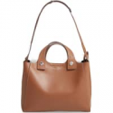 Deals List: Tory Burch Small Rory Genuine Shearling & Leather Satchel