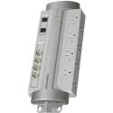 Deals List: Panamax - 8-Outlet Power Conditioner/Surge Protector - Gray, M8-AV