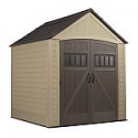 Deals List: Rubbermaid (Common: 7-ft x 7-ft; Actual Interior Dimensions: 6.75-ft x 6.78-ft) Roughneck Storage Shed
