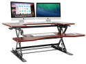 Deals List: Halter ED-258 Preassembled Height Adjustable Desk Sit/Stand Desk Elevating Desktop