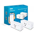 Deals List: Amysen Wifi Smart Plug(2-Pack), Smart Outlet Mini Socket No Hub Required, Control Your Devices from Anywhere Compatible with Alexa and Google Assistant