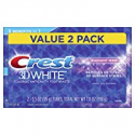 Deals List: Crest 3D White Whitening Toothpaste, Radiant Mint, 3.5oz,Twin Pack