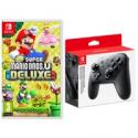 Deals List: Super Mario Bros. U Deluxe Nintendo Switch with Controller
